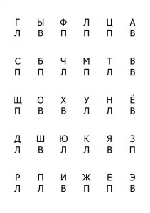 Игра Алфавит